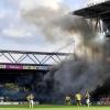 Obasi-show bland rökmolnen på Borås arena.